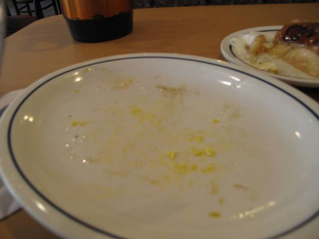 """Eggs"" and Turkey Bacon...Gone!"
