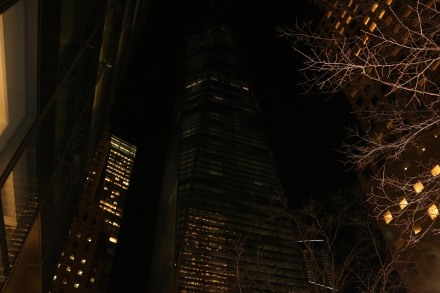 Night time Lower Manhattan
