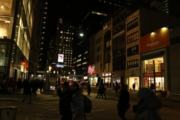 Night Lower Manhattan