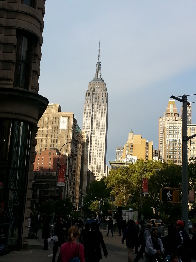 Empire State Bldg Looms Large