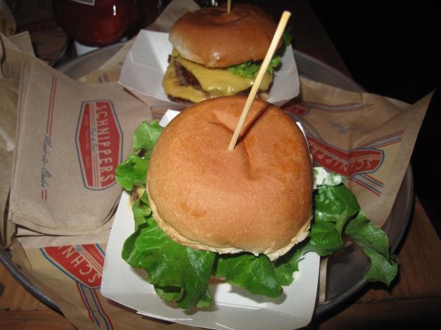 The Double Cheeseburgers have arrived.  MMMmmm Mmmmm Son!!!