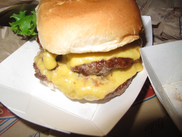 Double Cheeseburger number 1