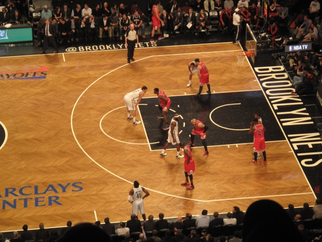 Nets were down all night but kept battling back until Bulls made a run to close to door on the game and shift the series back to Chicago with a split.