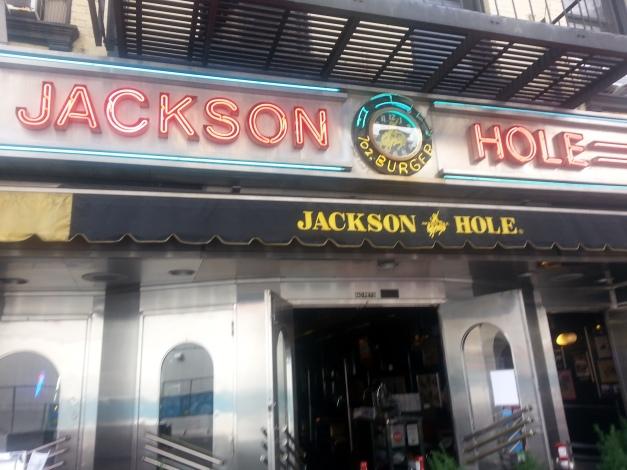 The Jackson Hole Entrance