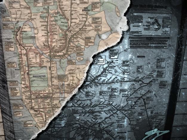 NYC Subway Map 2013