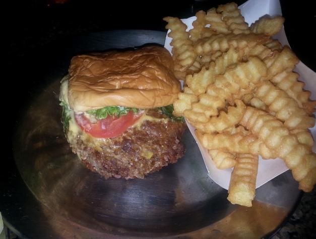 Shake Shack burger & Fries.