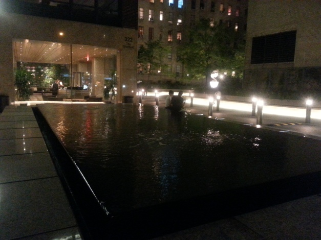 GN Reflecting Pool at Night