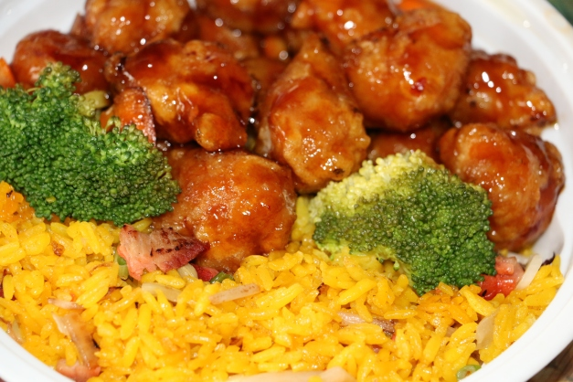 Orange Chicken lunch special