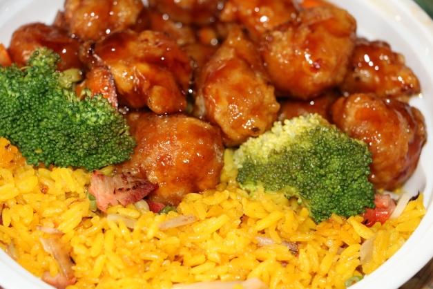 Orange Chicken lunch special