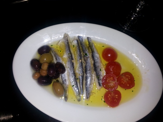 White Anchovies