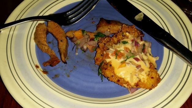 Quinoa Crusted Catfish
