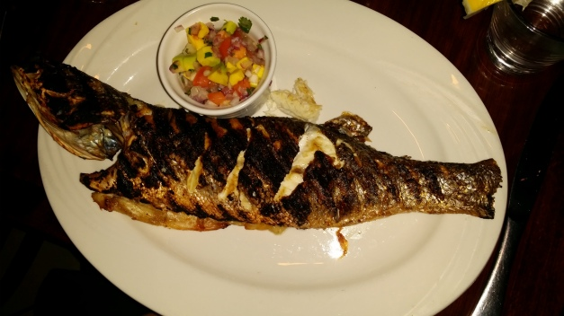 Bronzed Whole Fish