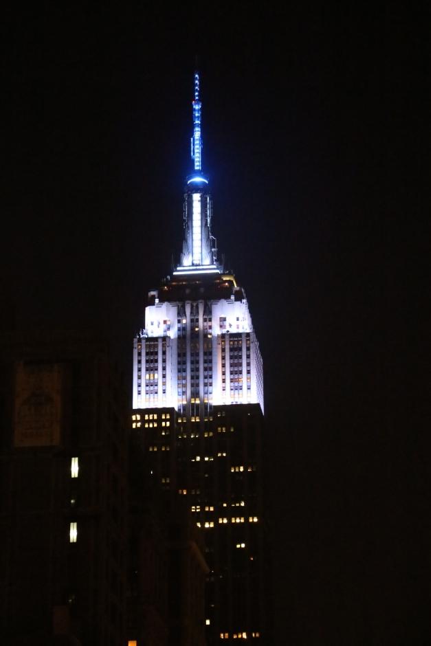 E.S.B Blue & White