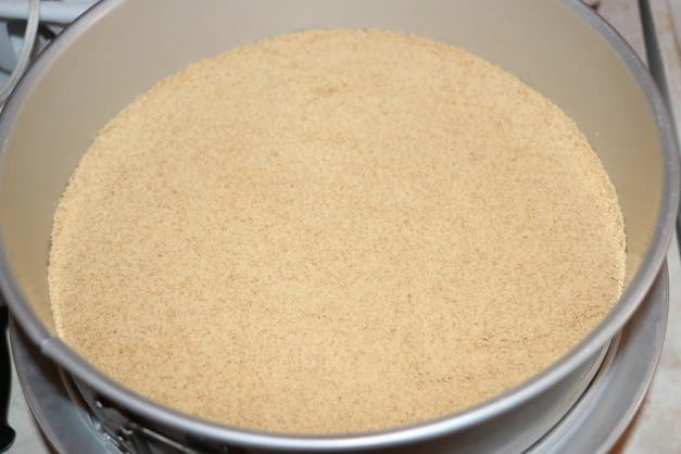 Graham Cracker Crust Prep