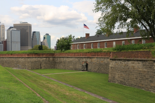 West side Fort Jay