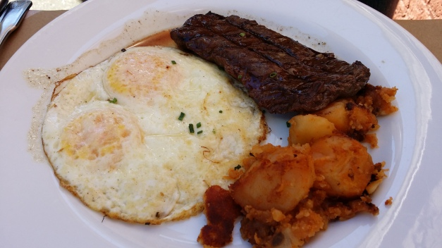 Steak & Eggs Agave