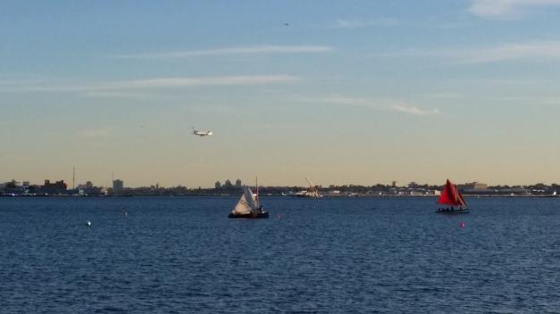 Boat Plane Water
