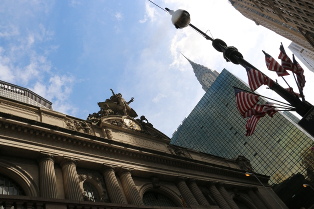 The Entrance to Grand Central