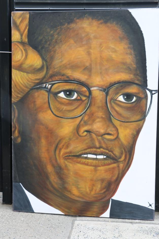 Malcolm X Mural