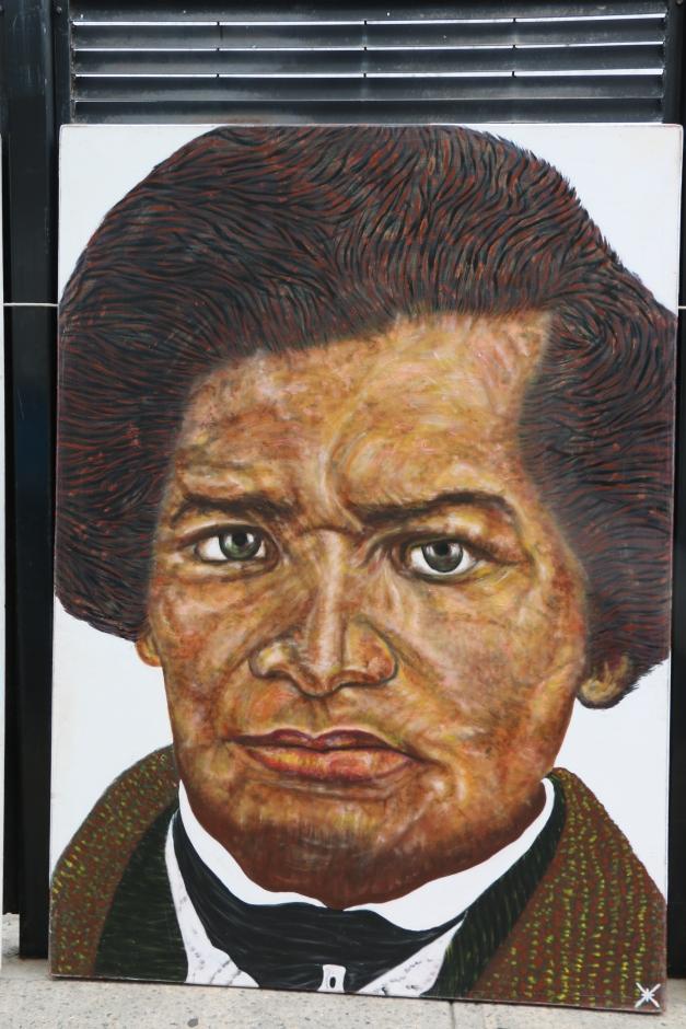 Frederick Douglas Mural