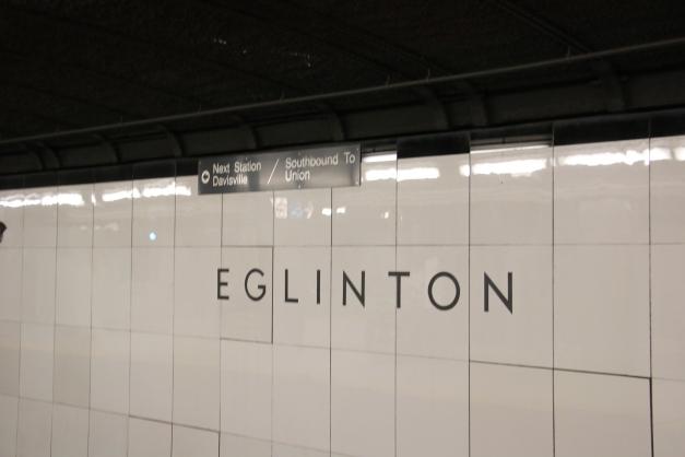 Inside Eglinton