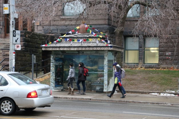 Decorated Bus Stop