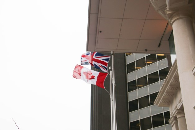 UK & Canada Flags