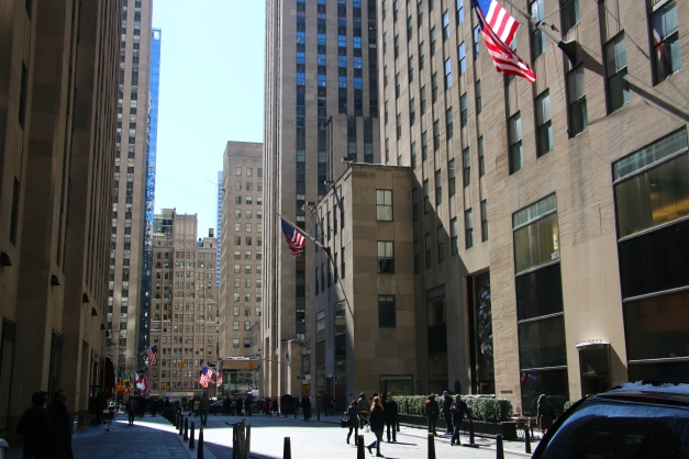 Rockefeller In the Distance