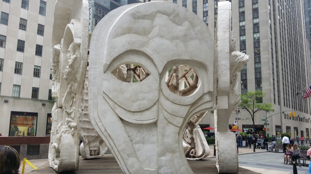 Public Art Display Face 3