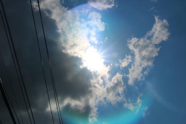 Sun Ove rhead