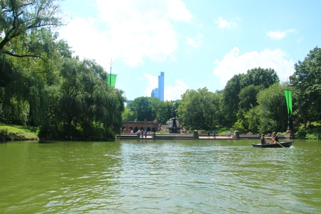 On The Lake In Central Park