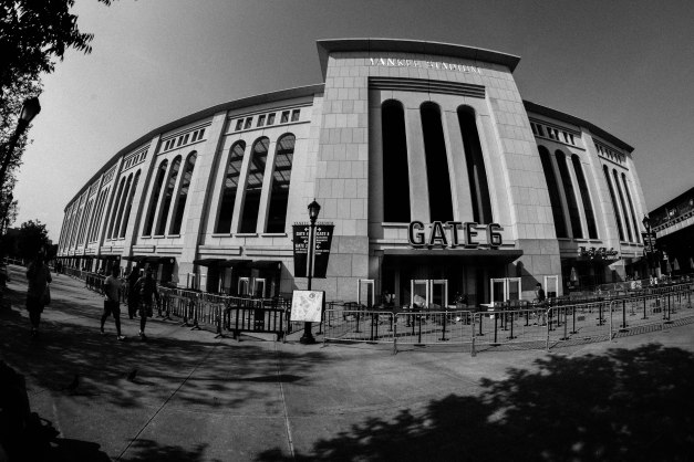 New Yankee Stadium Black & White (Dark)