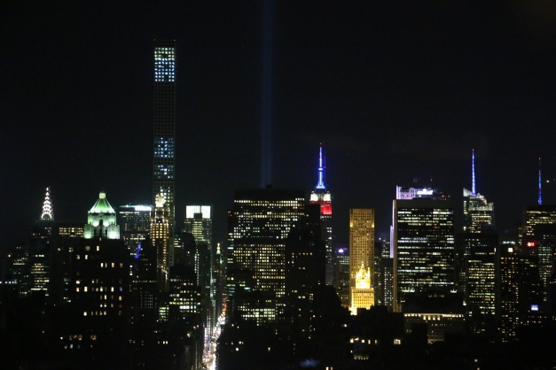 9/11/2015 Anniversary Night Shot NYC