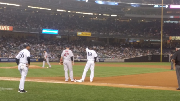 Yankee On 1st Base