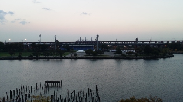 Over Looking The East River