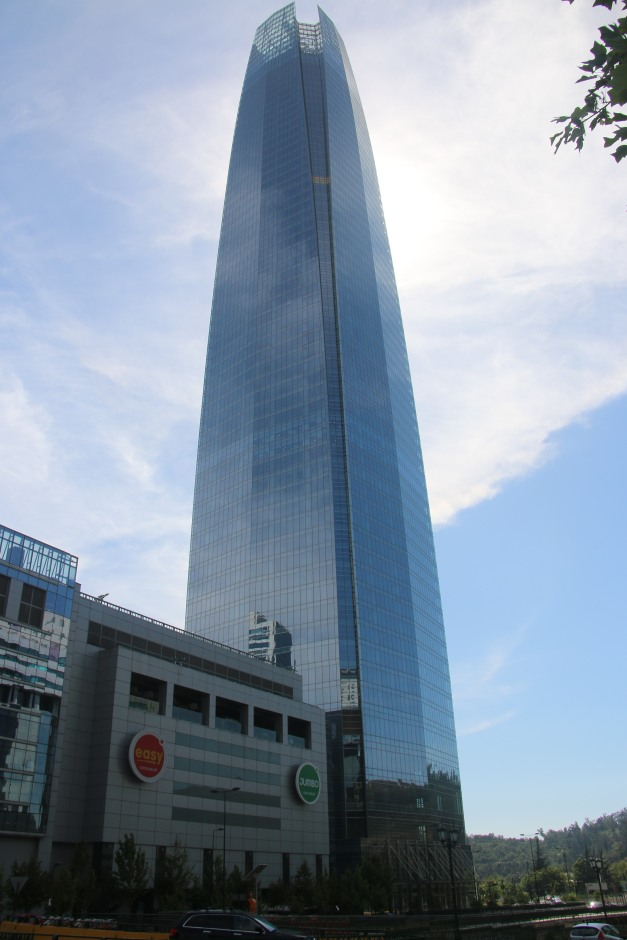 Chile's answer to the Freedom Tower.