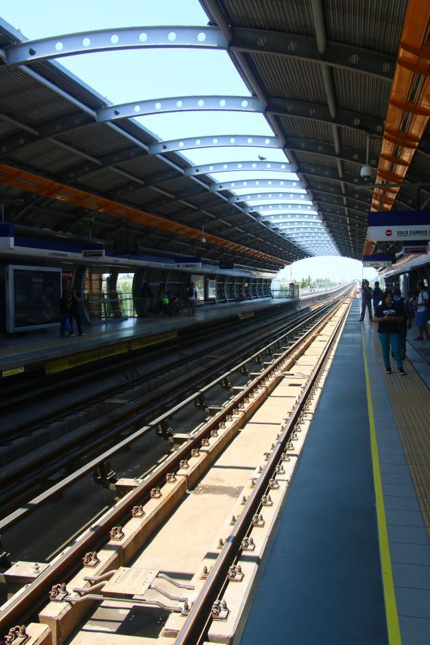 A look at Santiago's Subway