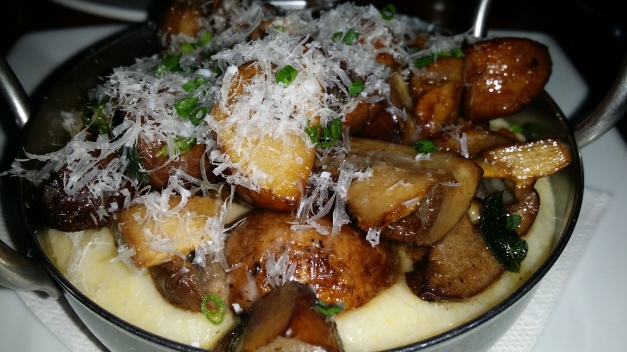 Creamy Polenta & Mushrooms w Shaved Parmesan 2